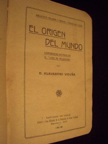 el origen del mundo, alejandro vicuña, 1916
