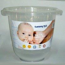 el original de la panza bebé de la tina de baño - claro