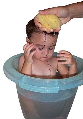 el original de la panza bebé de la tina de baño - verde