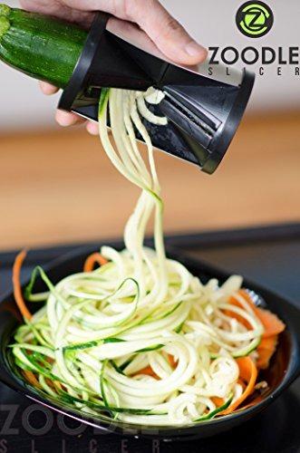 el original rebanar completo vegetal espiral zoodle cortador