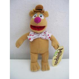 El Oso Figaredo De Los Muppets 30 Cm Original Buenísimo!!