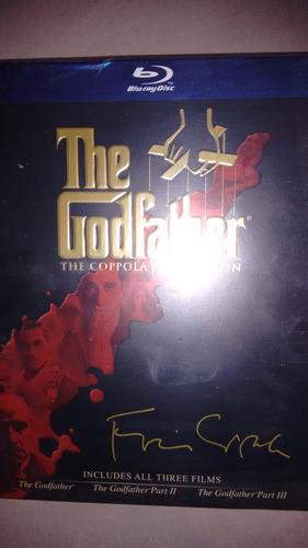 el padrino trilogía: coppola restoration bluray de colección