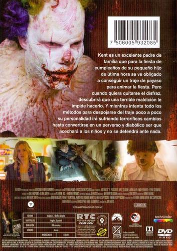 el payaso del mal clown eli roth pelicula dvd
