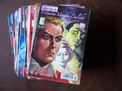 el pecado de oyuki-lote de 2 revistas nos.1-8-vargas dulché