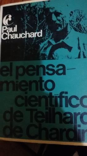 el pensamiento cientifico de teihard de chardin