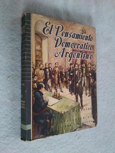 el pensamiento democrático argentino - guillermo canessa