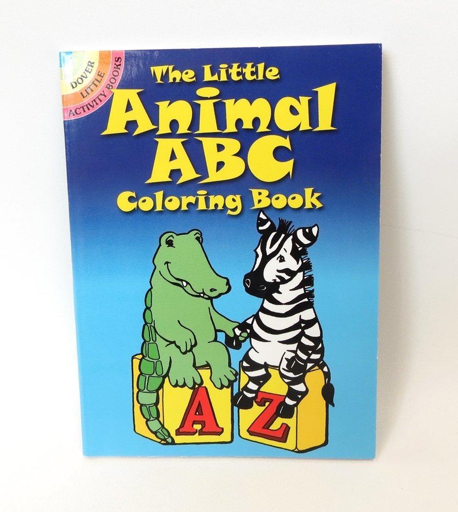 El Pequeño Libro De Colorear Abc De Animales + Envio Gratis ...