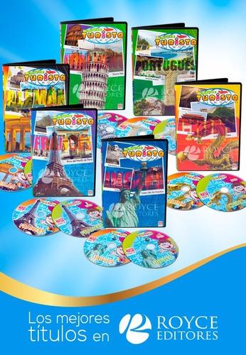 el pequeño turista del mundo 6 dvds + 6 cd plus