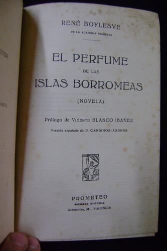 el perfume de las islas borromeas - rené boylesve