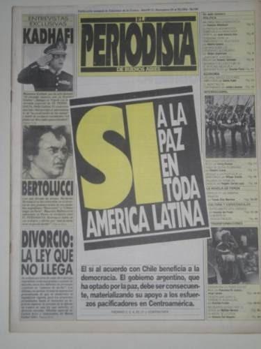 el periodista n° 11 - 24 al 30 noviembre de 1984
