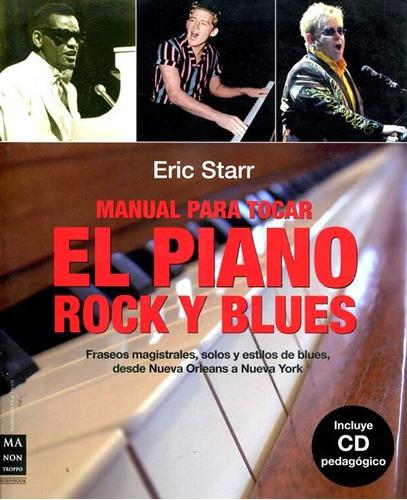el piano rock y blues , manual para tocar