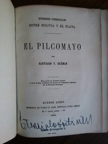 el pilcomayo - santiago guzman (comercio bolivia y el plata)