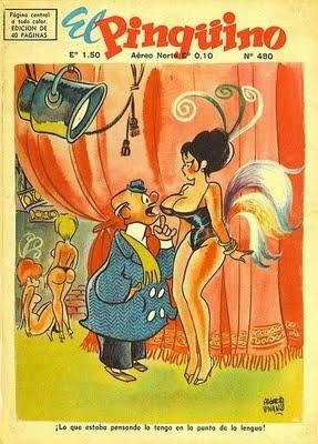 el pinguino comic humor coleccion digital vintage + can can