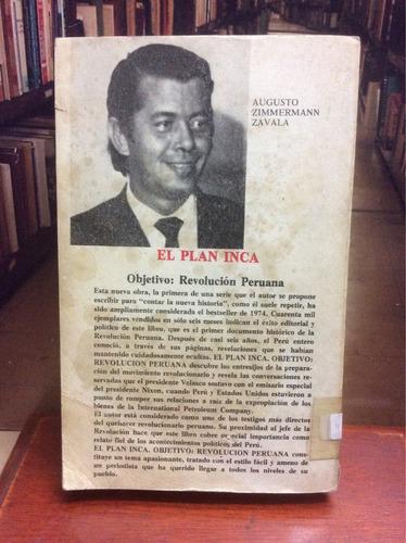 el plan inca. revolución peruana. augusto zimmermann zavala