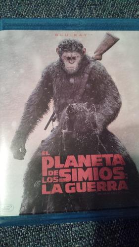 el planeta de los simios  la guerra  bluray