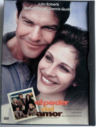 el poder del amor. dvd.