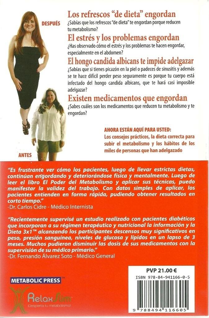 El Poder Del Metabolismo Frank Suarez Libro Digital Pdf..