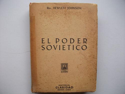 el poder soviético - hewlett johnson - claridad / 1941