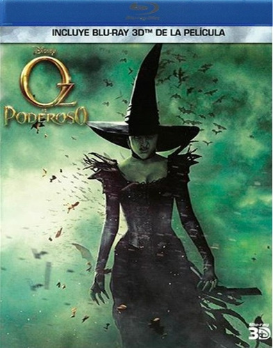 el poderoso oz the great and powerful pelicula blu-ray 3d