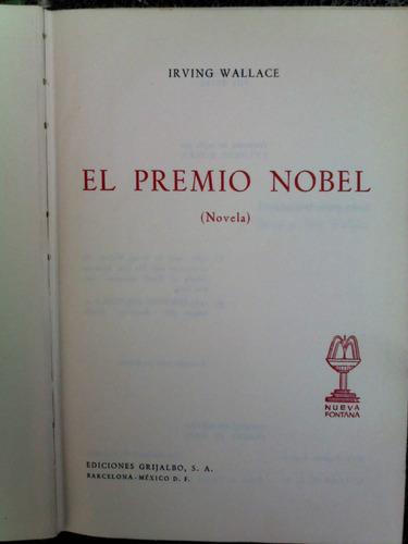 el premio nobel / irving wallace / best sellers