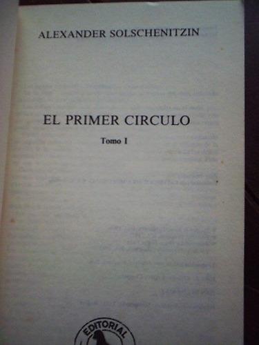 el primer círculo   a. solschenitzin (premio nobel)