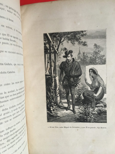 el príncipe de los ingenios, cervantes, m fernandez, tomo 2