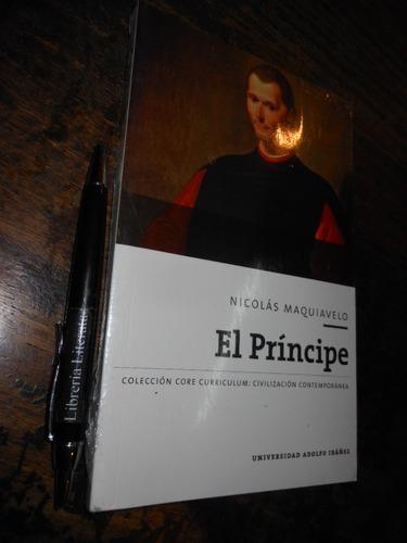 el príncipe nicolás maquiavelo nuevo y sellado ed. universid