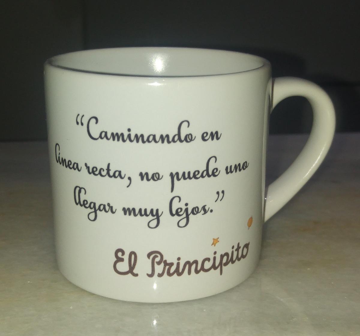 El Principito 6 Tazas Cafe Ceramica Frases Imagen Calidad