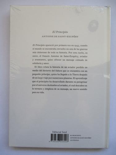 el principito / antoine de saint-exupéry / sellado /empaste