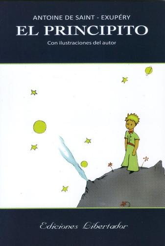 el principito - antoine saint exupéry libro nuevo