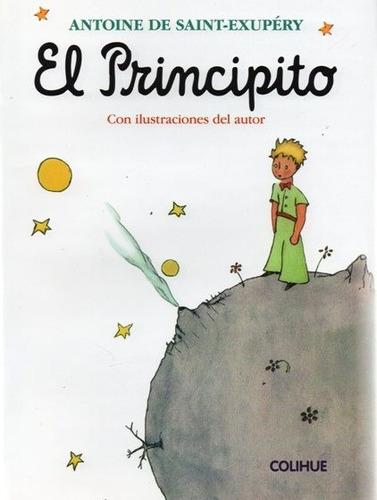 el principito con ilustraciones saint exupéry (col)
