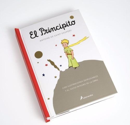el principito - pop up con ilustraciones desplegables nuevo