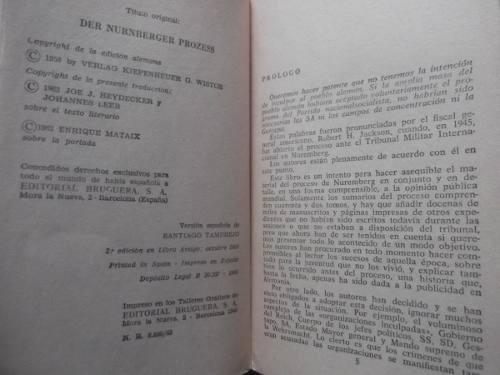 el proceso de nuremberg heydecker / leeb 2a guerra mundial