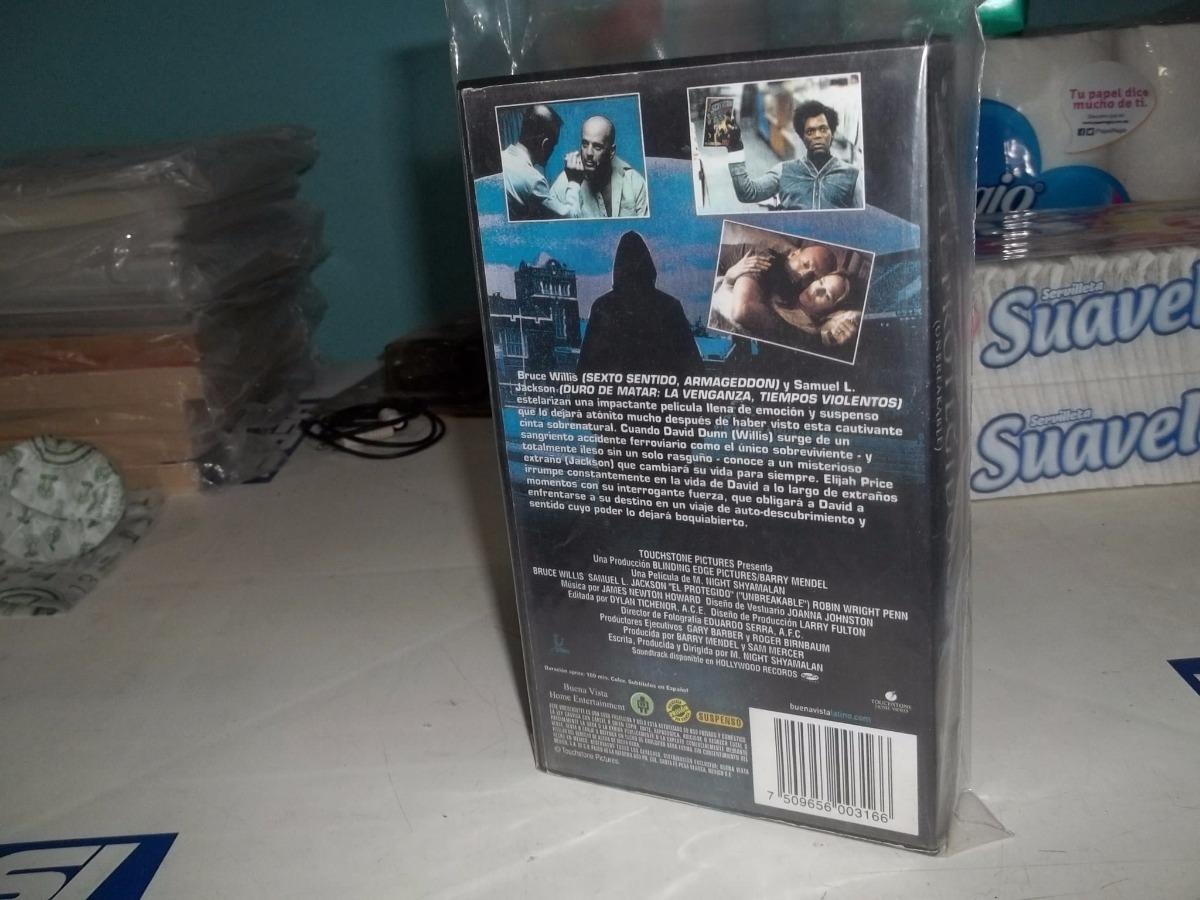 El Protegido Vhs Accion Bruce Willis 9860 En Mercado Libre