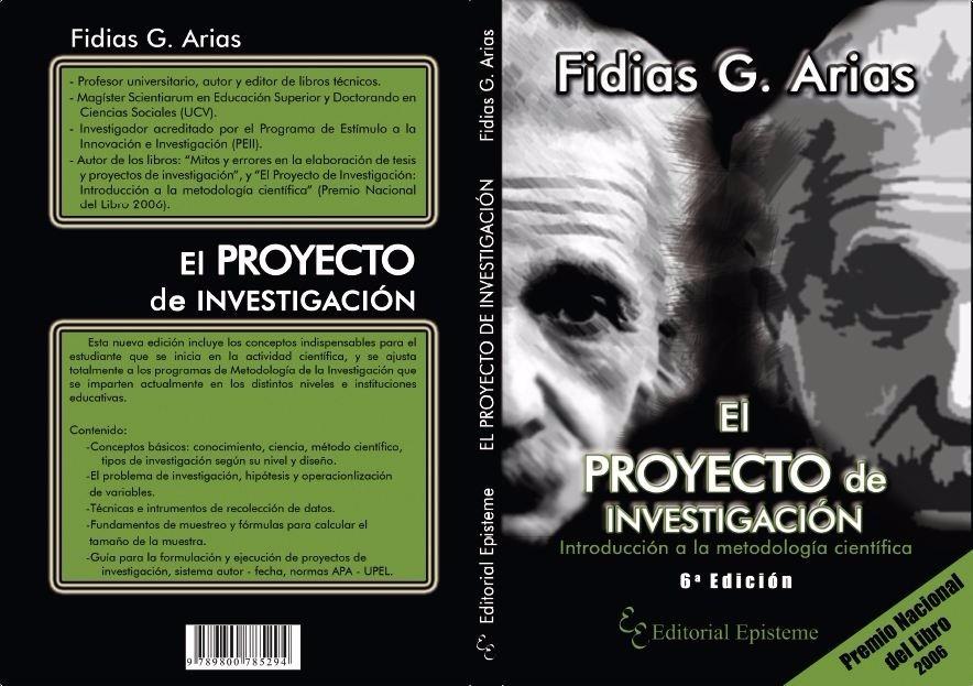 el proyecto de investigacion fidias arias 2006