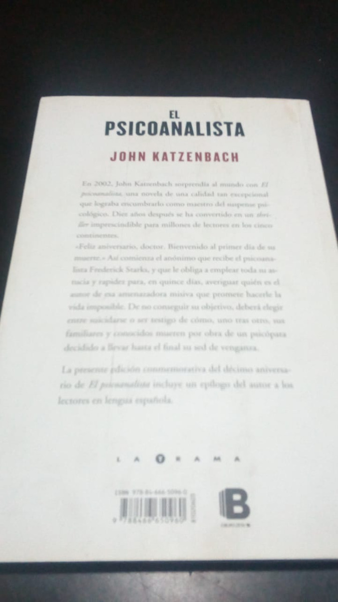 el psicoanalista edicion decimo aniversario. Cargando zoom.