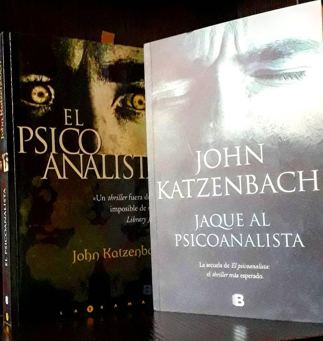 El Psicoanalista, Jaque Al Psicoanalista Katzenbach 2 Libros - U$S 22,00 en  Mercado Libre