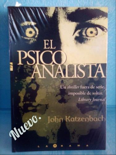 el psicoanalista- john katzenbach.