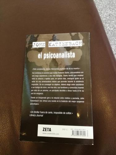 el psicoanalista john katzenbach libro nuevo de oferta