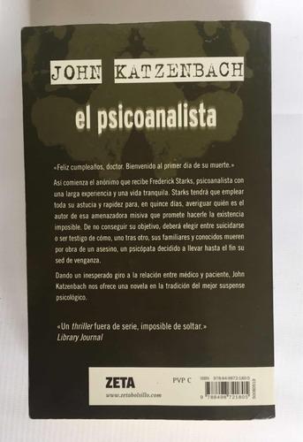 el psicoanalista - john katzenbach original