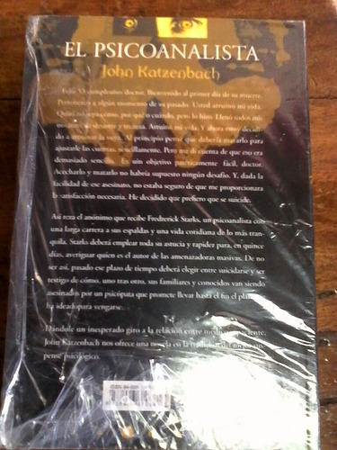 el psicoanalista por (john katzenbach)