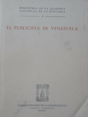 el publicista de venezuela sesquicentenario pb147