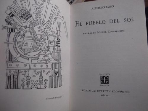 el pueblo del sol alfonso caso fce mundo espiritual azteca
