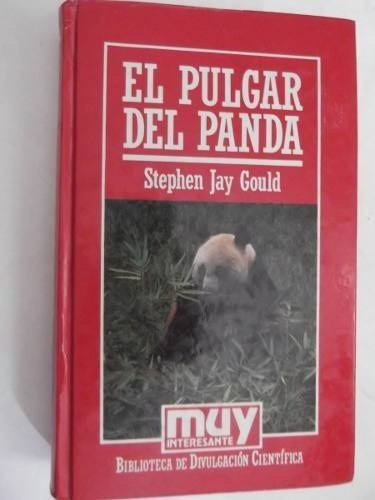 el pulgar del panda s. jay gould muy interesante tapa dura