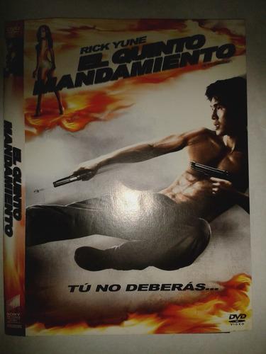 el quinto mandamiento - dvd - buen estado - original!!!