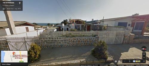 el quisco arriendo casa con chimenea a 3 cuadras playa