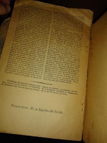 el redactor de la asamblea 1813 edición facsimilar de 1913