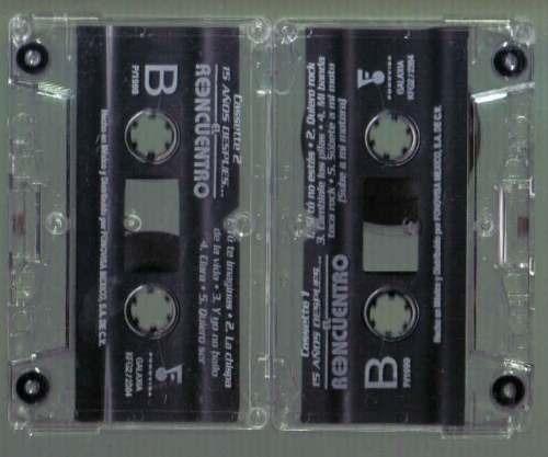 el reencuentro 15 años despues cassette 1998 bvf