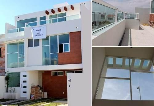 el refugio, 3 niveles, 3 recámaras, jardín, roof garden!