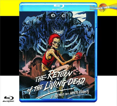 el regreso de los muertos vivientes 1 blu-ray original!!